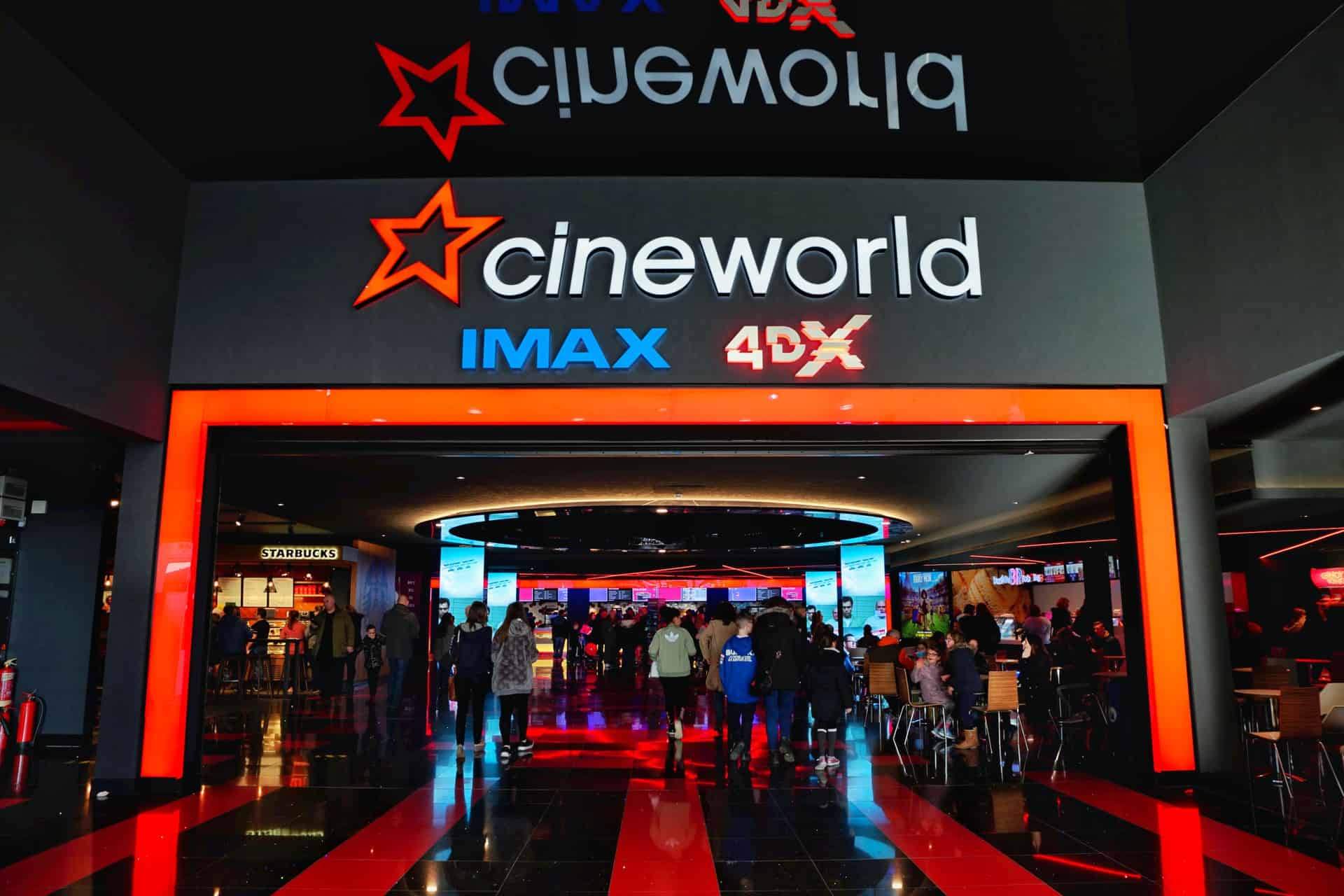 Cineworld Food Prices