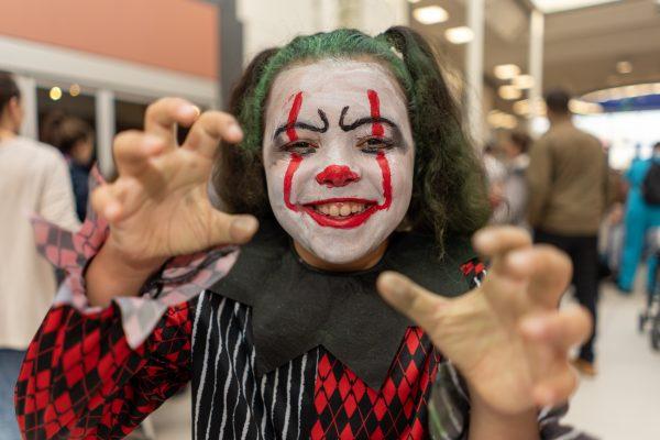 Lexi Farmer, 9. Halloween at Festival Lesuire, Basildon.